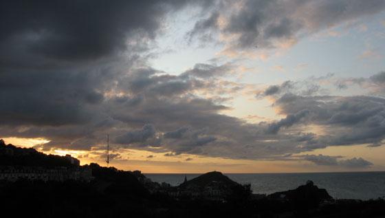 Ilfracombe twilight