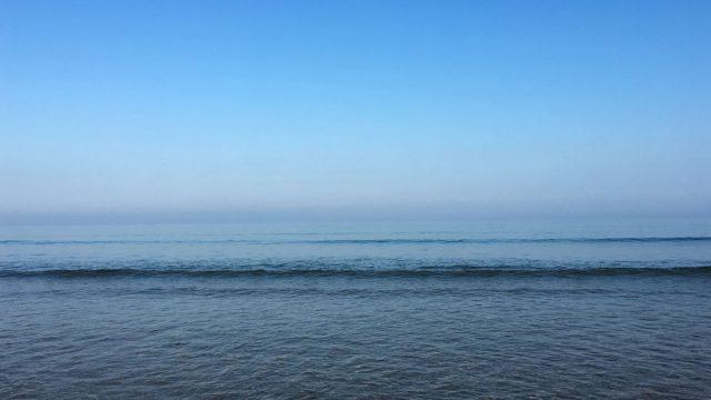 Cool blue sea and sky | robzlog.co.uk @robertz