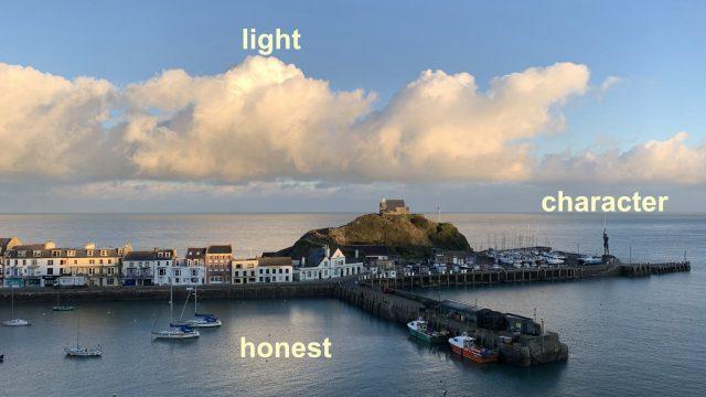 My three words for 2021 | character – honest – light | Robert Zarywacz | robzlog.co.uk